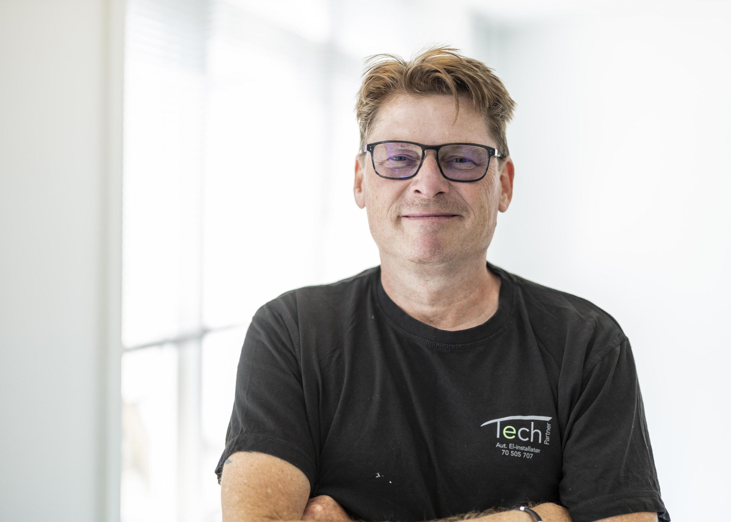 Jørgen Juhl - El-installatør hos Tech Partner