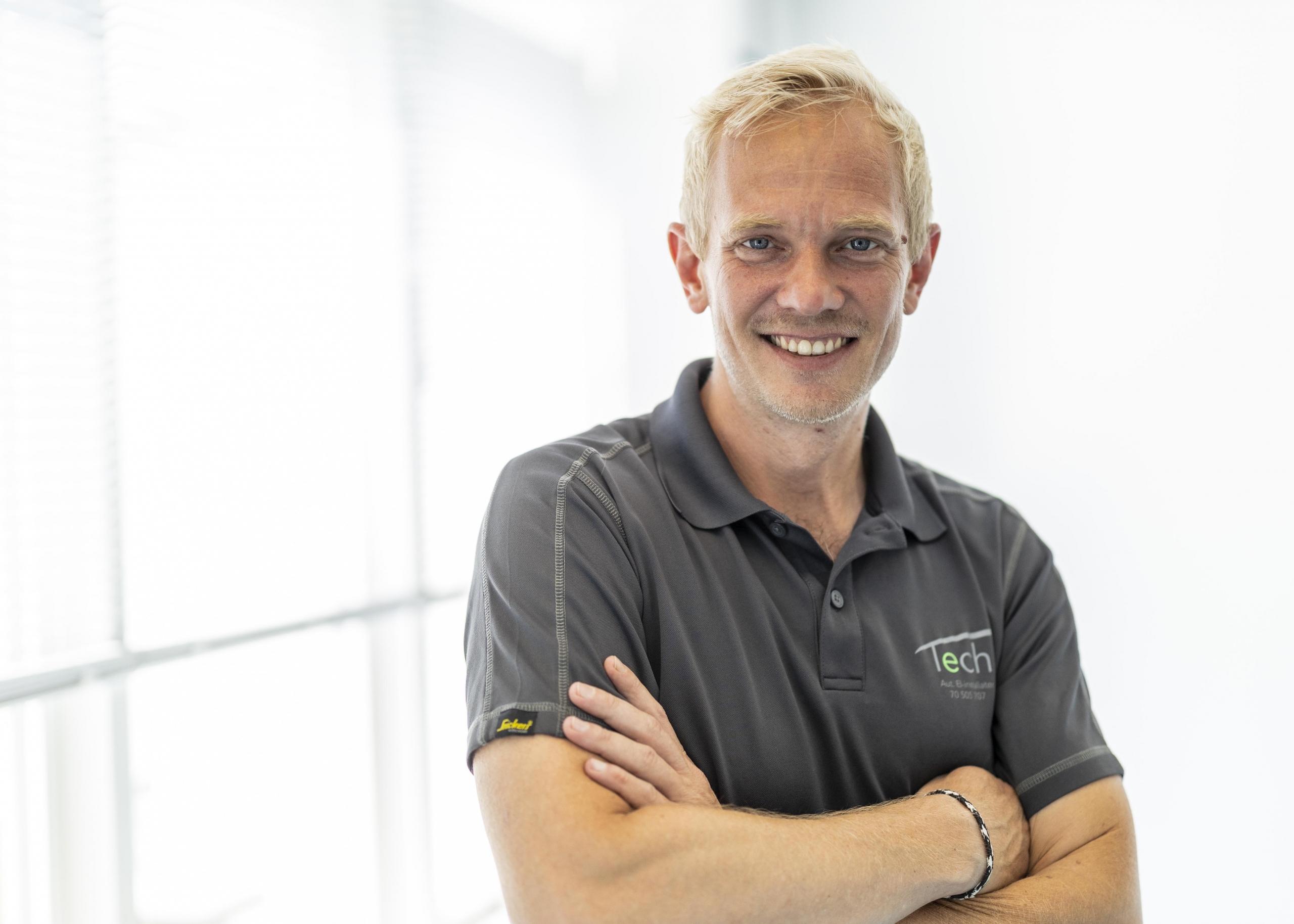Kenneth Vridsgård - Teknisk ansvarlig hos Tech Partner